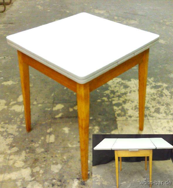 kuechentisch50er. Black Bedroom Furniture Sets. Home Design Ideas