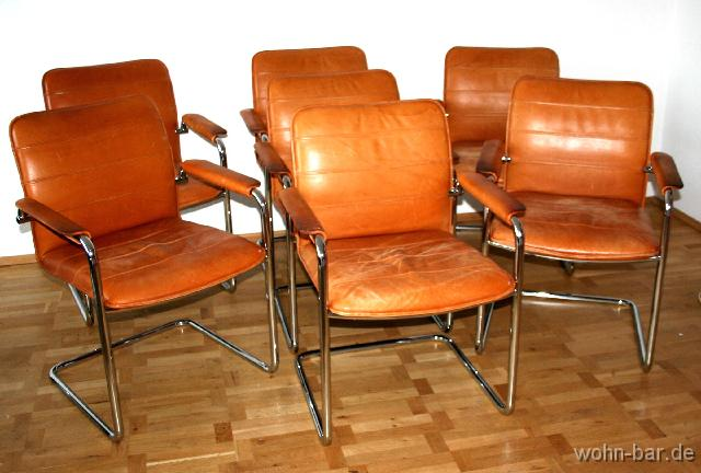 Freischwinger Stühle Leder Weiss ~ Pin Mit Lederbezug Freischwinger In Weiß Moderne Stühle In Z Form on